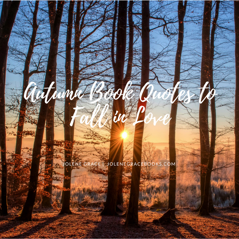 Autumn Book Quotes To Fall in Love